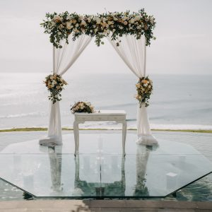 Kamaya water wedding bali