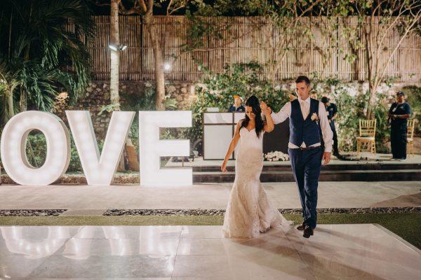 Grand Entry Kamaya wedding Bali