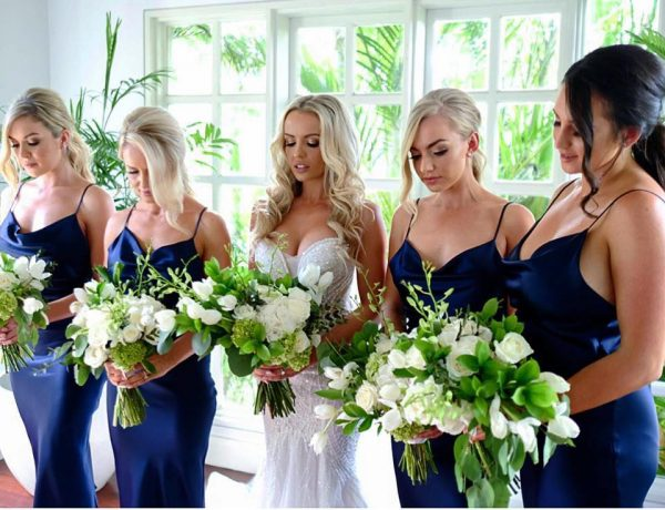 Hair and Makeup Bridal party by The Bronzer
