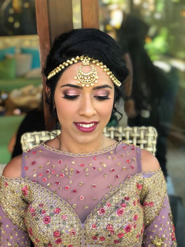 Indian Style Hair and Makeup by The Bronzer Bali