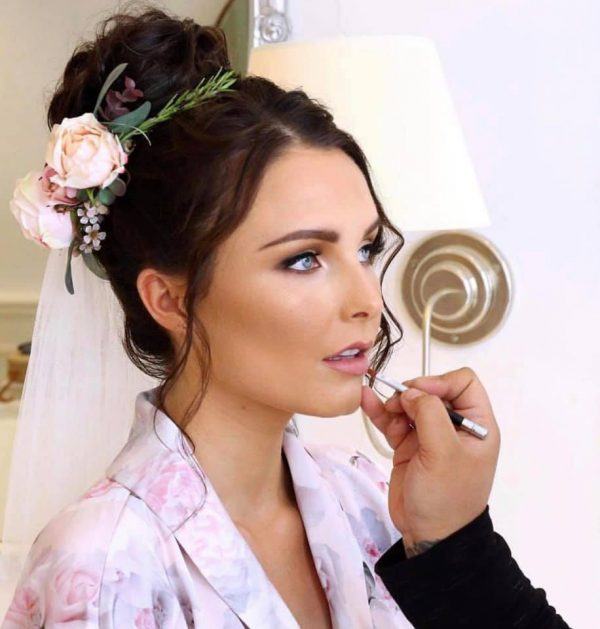 Hair and Makeup Bride by The Bronzer