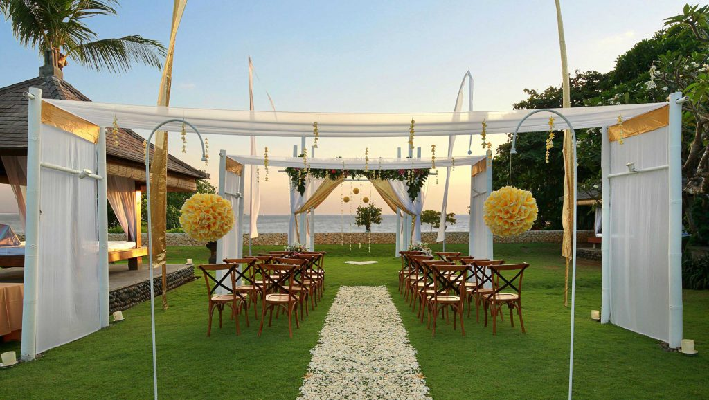 Bali Niksoma Wedding Setup
