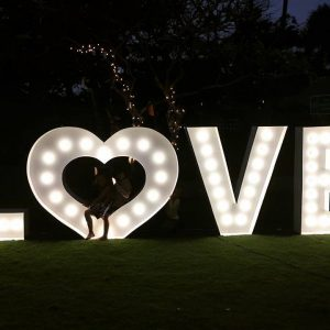 lightup love heart bali