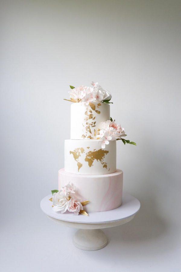 marble world cake
