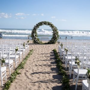 Ceremony set round romance