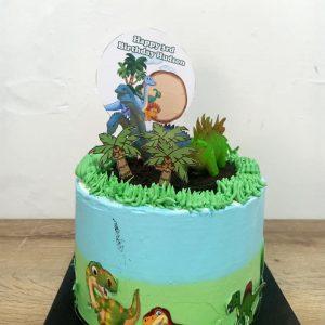 Dinosaur swamp cake bali