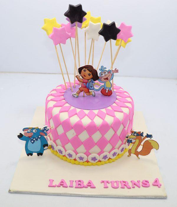 Dora the explorer cake bali