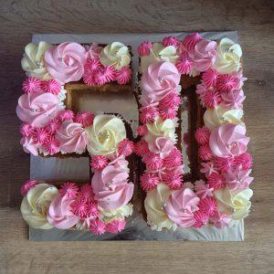 Birthday cake numbers bali