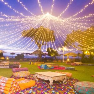 fairy light canopy bali