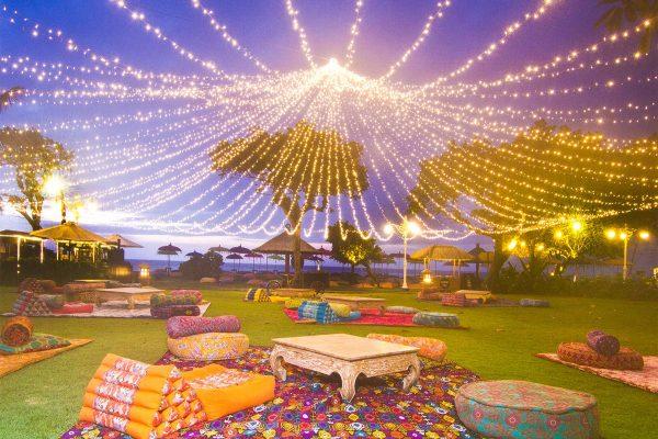 fairy light canopy bali
