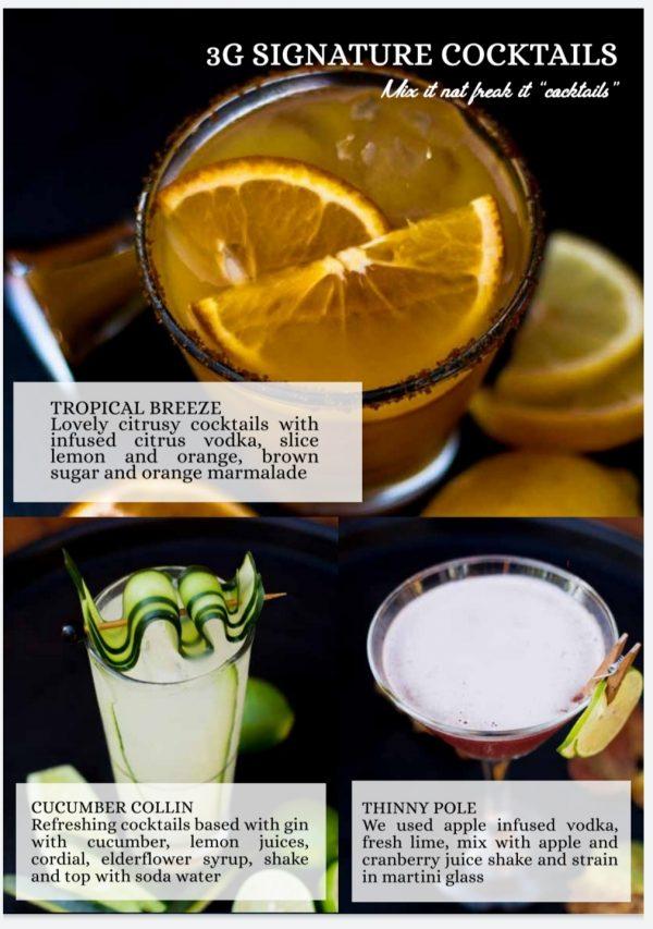 bali bar service