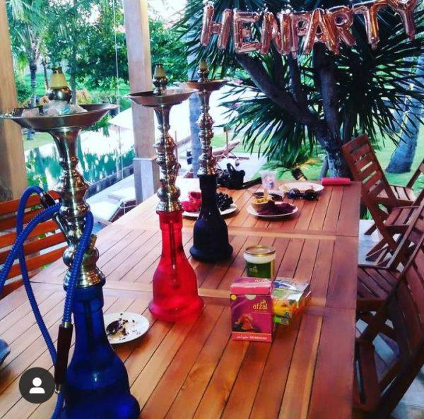 Bali Shisha Hire