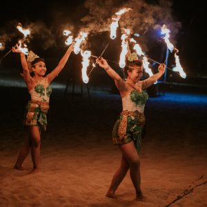 fire dancers bali events