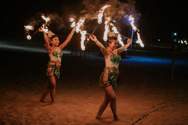 fire dancers bali events