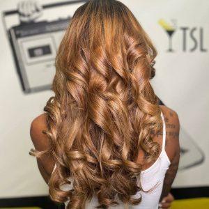 Hair and makeup shampoo lounge bali