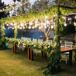 Bridal Table Set Bali
