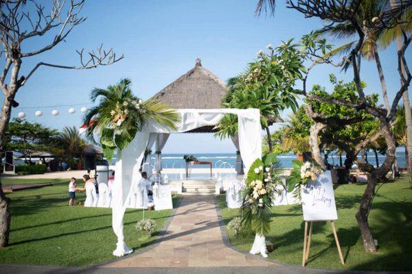 Nusa Dua Beach Hotel and Spa Wedding